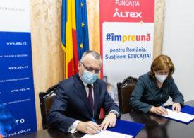 ALTEX a donat școlilor echipamente de protecție ridicată de peste 2 milioane de euro