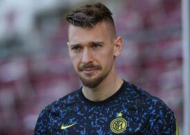 Portarul român Ionuț Radu a bifat primul său meci în Italia după o pauză de un an și jumătate