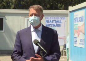 Iohannis: Stăm extraordinar de bine cu această vaccinare. Dar să nu ne amăgim, pandemia nu a dispărut