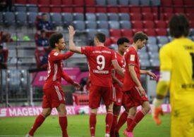 Lewandowski a marcat un nou hattrick în tricoul lui Bayern și este la un gol să egaleze marele record al lui Gerd Muller
