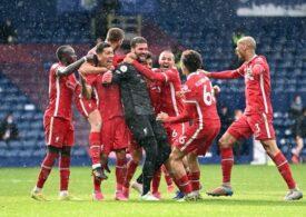 Portarul Allison a salvat-o pe Liverpool cu un gol de generic la ultima fază a jocului cu West Bromwich (Video)