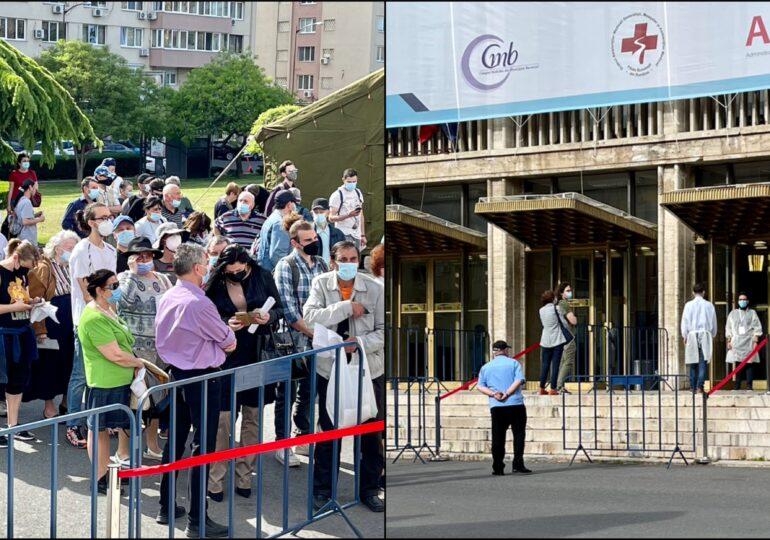 Nou record de vaccinări în România în 24 de ore. La maratonul din Capitală au fost vaccinați 5 oameni pe minut