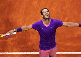 Rafa Nadal triumfă pentru a zecea oară la Roma după o finală dramatică în fața rivalului Novak Djokovici