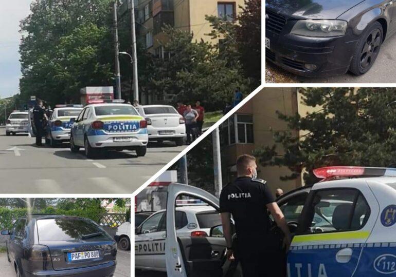 O femeie băgată cu forţa într-o maşină a fost salvată de un poliţist şi un jandarm, la Craiova