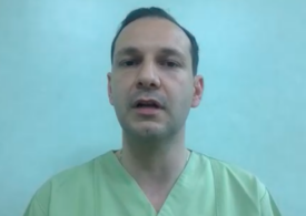 """De ce sunt mai puțini bolnavi la terapie intensivă? """"Cei care sunt internați la ATI nu s-au vaccinat"""" - <span style=""""color:#ff0000;font-size:100%;"""">Interviu video</span> cu medicul Radu Țincu"""