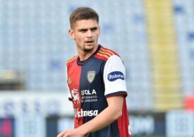Încă un meci mare făcut de Răzvan Marin pentru Cagliari