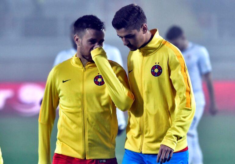 Gestul sfidător făcut de Dragoș Nedelcu după ce a fost schimbat din nou în prima repriză a meciului cu Sepsi