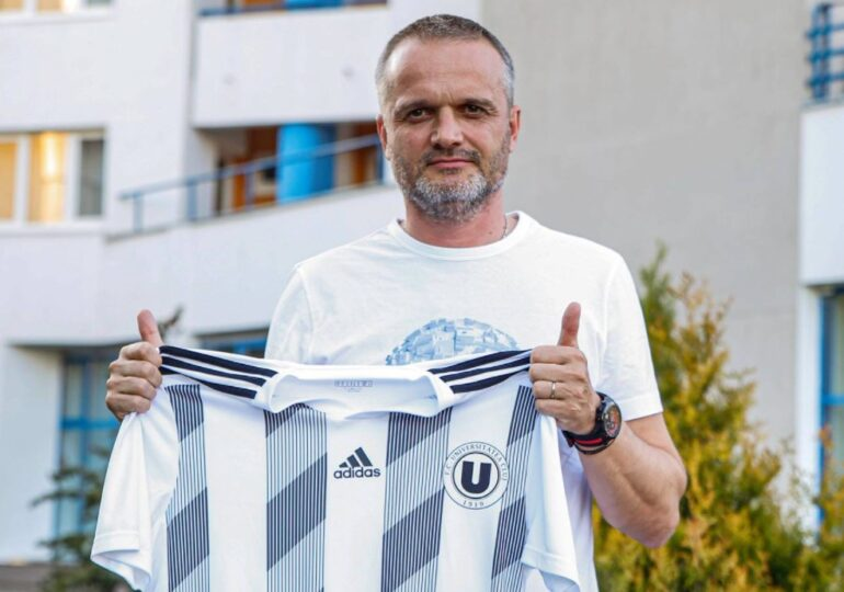 Universitatea Cluj are un nou antrenor - oficial