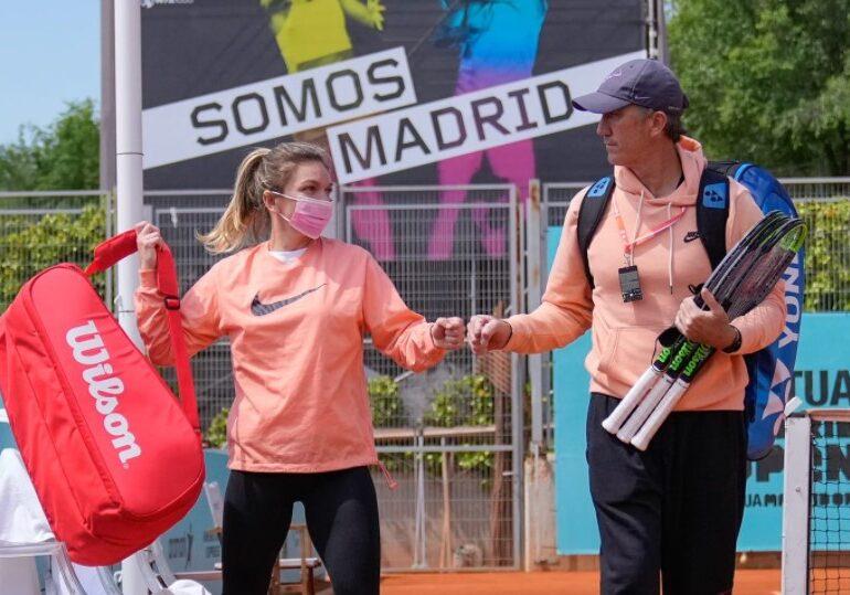 Simona Halep explică de ce a fost stresată înaintea meciurilor de la Madrid