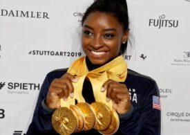 Simone Biles intră în istoria gimnasticii la revenirea în competiții