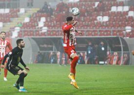 Liga 1: UTA se impune la limită în disputa cu Gaz Metan Mediaș din play-out