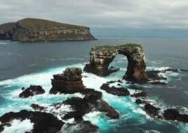 """Celebrul """"Arc al lui Darwin"""" din insulele Galapagos s-a prăbuşit"""