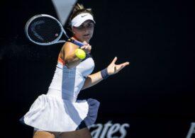 Bianca Andreescu a obținut o victorie categorică la Strasbourg