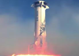 Turismul spațial, tot mai aproape de realitate: Pe 20 iulie e programată prima călătorie cu Blue Origin