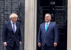 Boris Johnson şi Viktor Orban s-au întâlnit la Londra: Ce subiecte au fost pe agendă