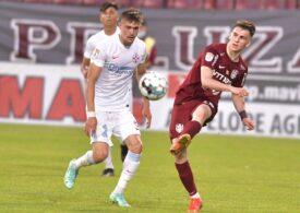 CFR Cluj a învins-o pe FCSB, în ultima etapă a Ligii 1