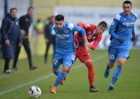 Liga 1: Academica Clinceni câștigă un meci cu 7 goluri