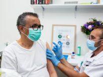 Directorul general al OMS s-a vaccinat antiCovid