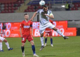 Liga 1: FCSB s-a încurcat de Clinceni