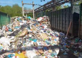 100 de tone de deșeuri au fost găsite într-o fostă uzină din Făgăraș. Primarul acuză Garda de Mediu