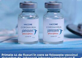 Unde vor fi primele 24 de centre care administrează vaccinul Johnson & Johnson