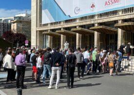 Peste 5.500 de oameni s-au vaccinat până acum la maratonul din Bucureşti UPDATE