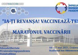 Maraton de vaccinare, pe stadionul Ion Oblemenco din Craiova, între 10 şi 17 mai