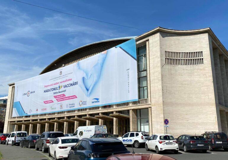 Începe Maratonul de Vaccinare din Bucureşti, la Biblioteca Naţională şi Sala Palatului