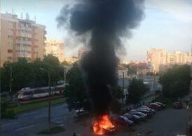 Poliţia are un cerc de suspecţi în cazul omului de afaceri arădean care a murit după ce i-a explodat mașina