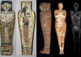 Toată lumea credea că e mumia unui bărbat. S-a dovedit a fi singura mumie a unei femei însărcinate găsită vreodată