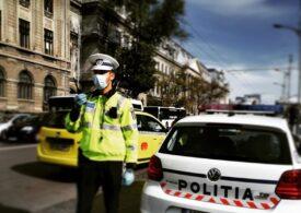 Mureș: O femeie de 71 de ani a lovit un pieton și alte două mașini în parcarea unui supermarket