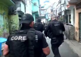 Zeci de morţi în Rio de Janeiro, în urma unui schimb de focuri între poliţie şi traficanți de droguri