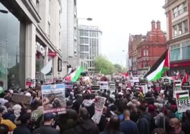 """Manifestaţii pro-palestiniene la Paris, Madrid, Londra, Montreal și Washington: """"Acesta nu este război, e genocid!"""" (Video)"""