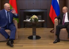Putin i-a oferit susţinere lui Lukaşenko, într-o întâlnire la Soci