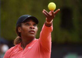 Serena Williams a fost eliminată în turul doi de la Roma
