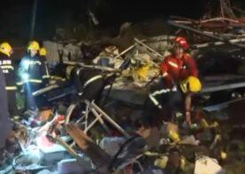 Bilanțul tornadelor din China a ajuns la 12 morți și peste 400 de răniți (Video)