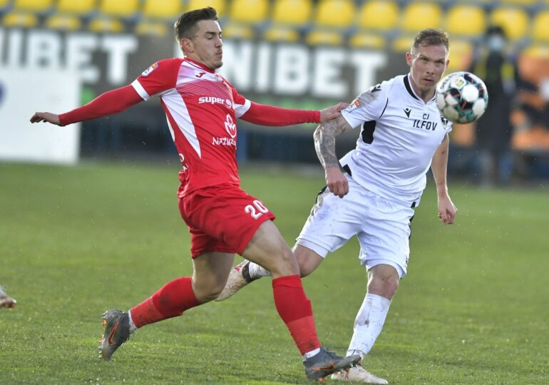 Liga 1: Hermannstadt a câștigat la Voluntari