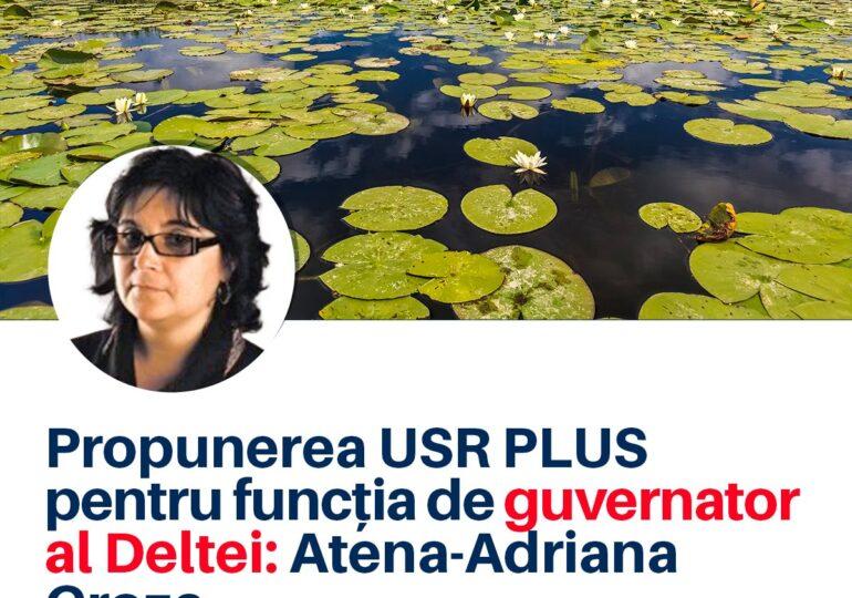 Propunerea USR PLUS pentru funcţia de guvernator al Deltei: un expert-cheie în protecția mediului