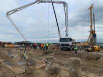 Au început lucrările la cel mai mare nod rutier de pe autostrada de centură a Capitalei (Foto)