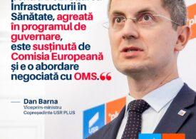 Comisia juridică a respins un amendament USR PLUS pentru crearea unei agenții care să construiască spitale