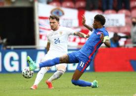România a fost învinsă la limită de Anglia într-un meci amical, după o prestație onorabilă