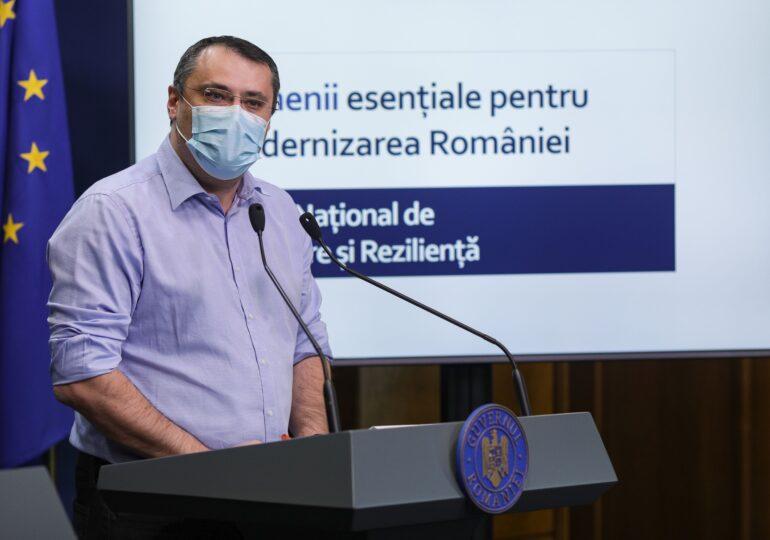 Ghinea îşi joacă mandatul pe PNRR: Ciolacu, hai să discutăm cu demisia pe masă!