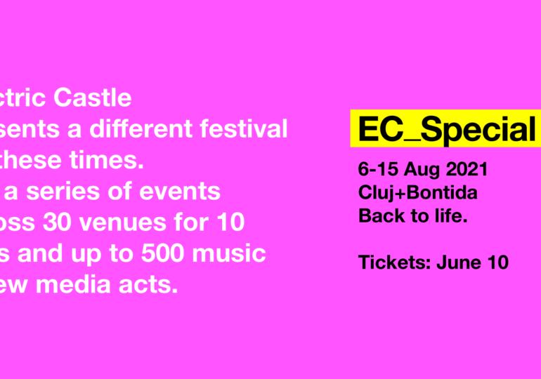 Electric Castle 2021 va avea loc în august, la Cluj şi Bonţida
