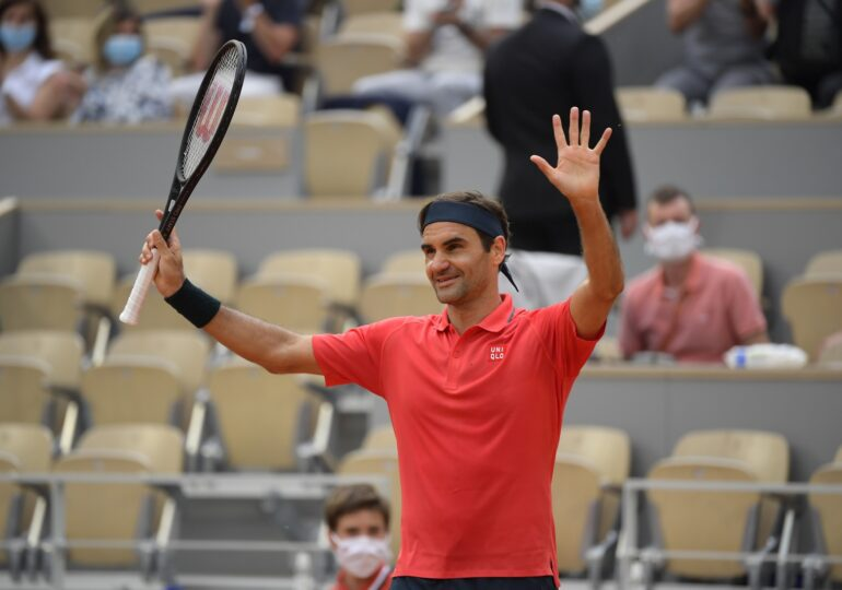 Roger Federer s-a retras de la Roland Garros