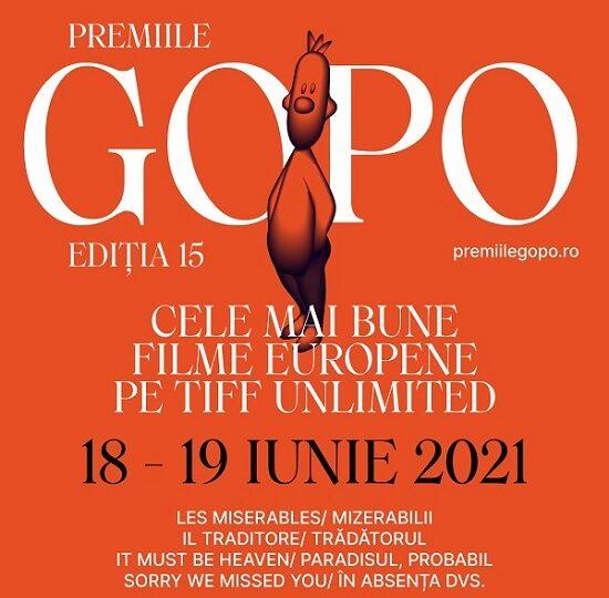 Cele mai bune filme europene nominalizate la Premiile Gopo 2021 se văd gratuit pe TIFF Unlimited pe 18 și 19 iunie