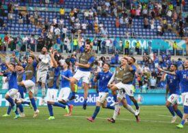 Italia a egalat un record vechi de 82 de ani, după calificarea în optimi la EURO 2020
