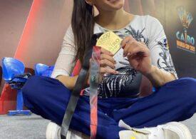 Larisa Iordache, medaliată cu aur la Cupa Mondială de gimnastică