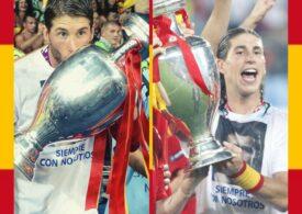 Jose Mourinho pregătește aducerea lui Sergio Ramos la AS Roma