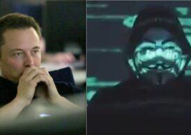 Elon Musk a fost ţinta grupării de hackeri Anonymous. Ce replică a dat magnatul