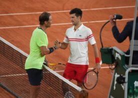 Rafa Nadal a suferit abia a treia sa înfrângere din carieră la Roland Garros, după un meci de poveste cu marele său rival Novak Djokovici